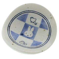 ミッフィー 箸置き 磁器製チョップスティックレスト 市松 ディックブルーナ キャラクターグッズ メール便可