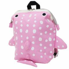 papupi 海キャラ ベビーリュック ワイヤープチデイパック ジンベイザメ ピンク かわいいおでかけかばん通販