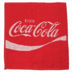 コカコーラ ペットボトル カバー ボトルホルダー タオル 赤 キャラクターグッズ メール便可