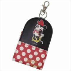 ミニーマウス リール式キーケース ランドセル取り付けベルト付き鍵カバー 2018年新入学 ディズニー キャラクターグッズ メール便可