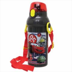 カーズ 水筒 直飲み プラ ワンタッチボトル Cars18 ディズニー キャラクター グッズ