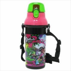 スプラトゥーン2 水筒 直飲みプラワンタッチ ボトルnintendo キャラクター グッズ