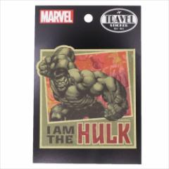 ハルク Sticker トラベルステッカー 19 マーベル キャラクターグッズ メール便可
