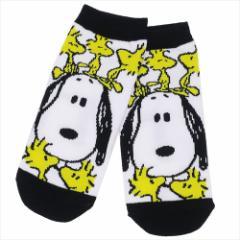 スヌーピー 女性用 靴下 レディース ソックス ウッドストックのっかり ピーナッツ キャラクターグッズ メール便可