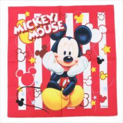 ミッキーマウス ランチクロス 大判ハンカチ くつろぎMickey ディズニー キャラクターグッズ メール便可