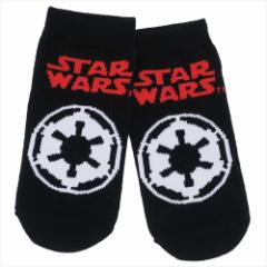 スターウォーズ 最後のジェダイ 子供用 靴下 キッズ ソックス エピソード8 帝国軍ロゴ STAR WARS キャラクターグッズ メール便可