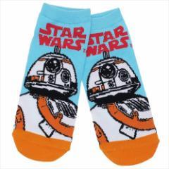 スターウォーズ 最後のジェダイ 男性用 靴下 メンズ ソックス エピソード8 BB-8ロゴ STAR WARS キャラクターグッズ メール便可