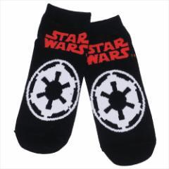 スターウォーズ 最後のジェダイ 男性用 靴下 メンズ ソックス エピソード8 帝国軍ロゴ STAR WARS キャラクターグッズ メール便可
