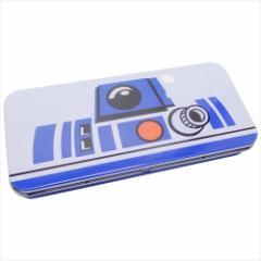 スターウォーズ 缶ペンケース キャラカンペン R2-D2 STAR WARS キャラクター グッズ