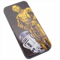 スターウォーズ 缶ペンケース キャラカンペン C-3PO&R2-D2 STAR WARS キャラクター グッズ