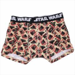 スターウォーズ 男性用下着 メンズボクサーパンツ ダースベイダー STAR WARS キャラクターグッズ メール便可