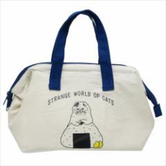 世にも不思議な猫世界 ランチトート ワイヤー入り保冷ランチバッグ おにぎり KORIRI キャラクター グッズ