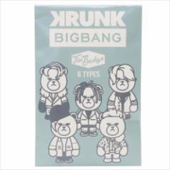KRUNK × BIGBANG 缶バッジ ビッグカンバッジ FXXK IT ビッグバン キャラクターグッズ メール便可