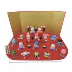 送料無料 ハローキティ キャラクターひな人形 15人 台段雛飾りサンリオ キャラクター グッズ