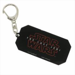 スターウォーズ 最後のジェダイ キーリング アクリルキーホルダー ロゴ STAR WARS キャラクターグッズ メール便可