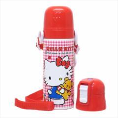 ハローキティ 保温保冷水筒 2wayステンレスボトル ギンガムチェック サンリオ キャラクター グッズ