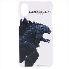 ゴジラ iPhoneXケース アイフォンXハードカバー GODZILLA 怪獣惑星 キャラクターグッズ メール便可