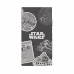 スターウォーズ 横罫ノート スリムノート2冊セット トラベルステッカーデザイン STAR WARS キャラクターグ