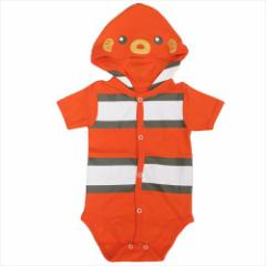 50%OFF クマノミ ベビーウェア なりきりフード付きロンパース アクアフレンズ 赤ちゃん服グッズ メール便可 SALE 4/19朝10時まで