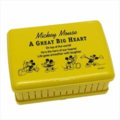 ミッキーマウス 弁当箱 折りたたみサンドイッチケース チアフル ディズニー キャラクターグッズ メール便可