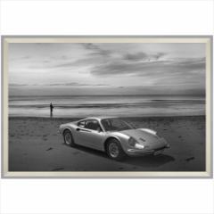 取寄品 送料無料 デザイナーズアート 写真 アート B&W PHOTOGRAPHY Dino 206 246 ディーノ 額付きインテリア雑貨通販