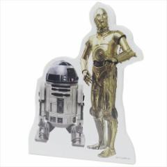 スターウォーズ メモ帳 スタンドメモ R2-D2&C-3PO STAR WARS キャラクターグッズ メール便可