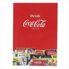 コカコーラ 横罫ノート A5学習ノート RED おやつマーケット キャラクターグッズ メール便可