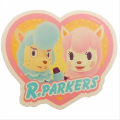 どうぶつの森 ステッカー トラベルステッカー Rパーカーズ nintendo キャラクターグッズ メール便可