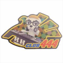どうぶつの森 ステッカー トラベルステッカー CLUB444 nintendo キャラクターグッズ メール便可