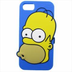 シンプソンズ アイフォン8ケース iPhone8 7 6S 6対応シリコンケース ホーマー キャラクター グッズ