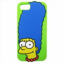 シンプソンズ アイフォン8ケース iPhone8 7 6S 6対応シリコンケース マージ キャラクター グッズ