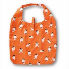 ゆる相撲 エコバッグ エコなショッピングバッグ 収納袋付き お買い物かばん グッズ