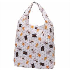 招き猫 エコバッグ エコなショッピングバッグ 収納袋付き インバウンド グッズ