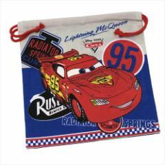 カーズ 巾着袋 マチ付ききんちゃくポーチ Cars18 ディズニー キャラクターグッズ メール便可
