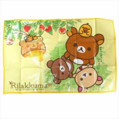 リラックマ ピクニック用品 レジャーシートS 一人用 イエロー サンエックス キャラクターグッズ メール便可
