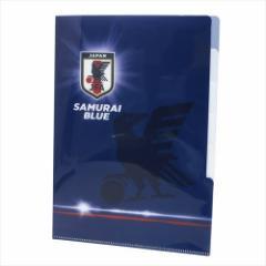 サッカー日本代表2018 ファイル 5インデックスA4クリアファイル フラッシュ フットボール グッズ