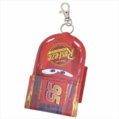カーズ リール式 キーケース ランドセル 取り付けベルト付き ライトニング・マックィーン ディズニー キャラクター メール便可