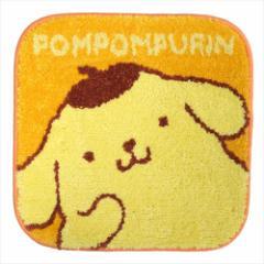 ポムポムプリン ミニミニマット スクエアチェアシート のんびりストレッチ サンリオ キャラクター グッズ