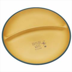 Bayside Wave 仕切り丸皿 ラウンドワンプレート グリーン 日本製 グッズ