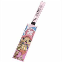 ワンピース おはし クリア箸 チョッパー ピンク ONE PIECE アニメキャラクターグッズ通販 メール便可