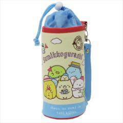 すみっコぐらし ペットボトルホルダー スウェット保冷ボトルケース ブルー サンエックス キャラクターグッズ通販