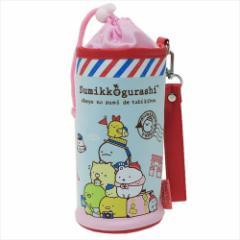 すみっコぐらし ペットボトルホルダー スウェット保冷ボトルケース ピンク サンエックス キャラクターグッズ通販