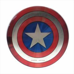 キャプテンアメリカ 缶バッジ ビッグカンバッジ シールド マーベル キャラクターグッズ通販 メール便可