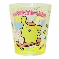 ポムポムプリン クリアプラコップ カラークリスタルカップ 80年代 サンリオ キャラクターグッズ通販