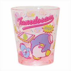 タキシードサム クリアプラコップ カラークリスタルカップ 80年代 サンリオ キャラクターグッズ通販