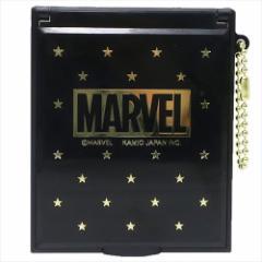 MARVEL 手鏡 スタンドミラーM ゴールド スター マーベル キャラクターグッズ通販 メール便可