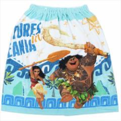 モアナと伝説の海 ラップタオル 60cm丈巻き巻きタオル モアナとマウイ ディズニー キャラクターグッズ通販