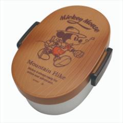 ミッキーマウス お弁当箱 タイト式木目ランチボックス キャンピングMickey ナチュラル ディズニー キャラクターグッズ通販