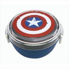 キャプテンアメリカ お弁当箱 ランチボウル ダメージシールドシリーズ マーベル キャラクターグッズ通販