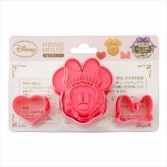 ミニーマウス 製菓用品 クッキー抜き型セットディズニー キャラクターグッズ通販